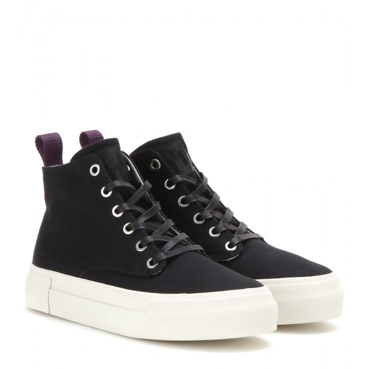 Eytys - Odyssey canvas high-top sneakers - mytheresa.com