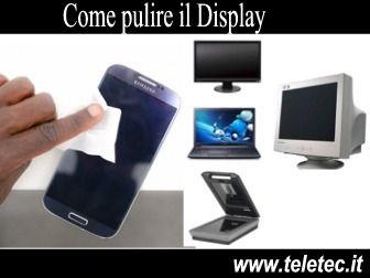 Con il Bicarbonato puoi pulire il Display di Smartphone, Tablet e Cellulari - Ecco come