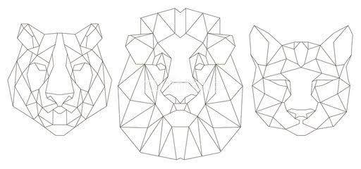 Resultado de imagen para geometric tiger