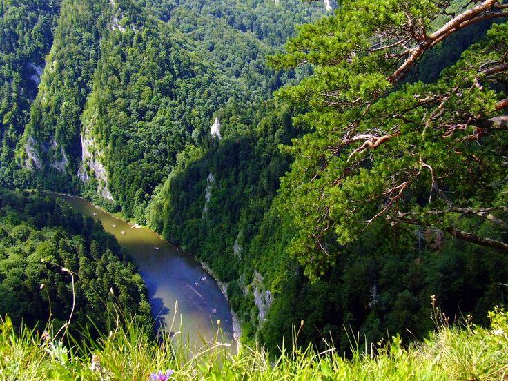 Pieniny -spływ Dunajcem