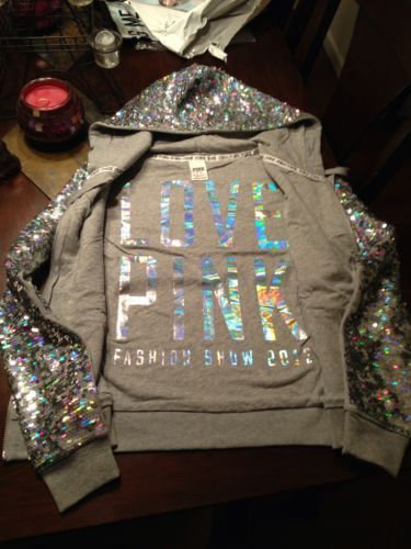 Victoria secret pink bling hoodie