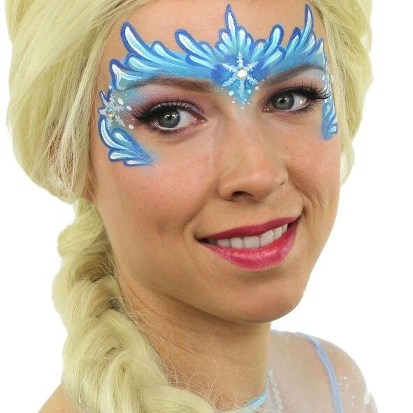 36 best images about schminken frozen on pinterest for Frozen face paint
