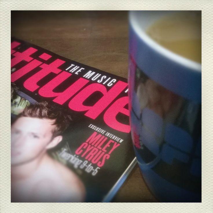 Fair trade coffee with attitude.