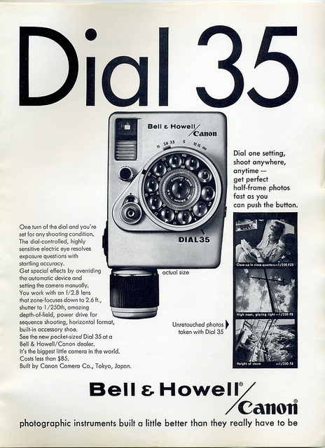 Bell & Howell / Canon Dial 35 - 1965 by Nesster, via Flickr