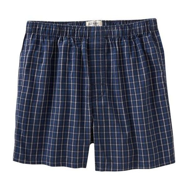 Old Navy Mens Classic-Pattern Boxers ($7.99) ❤ liked on Polyvore featuring men's fashion, men's clothing, men's underwear, bottoms, shorts, boxers, underwear, mens underwear boxers, mens white boxers and mens leopard print boxers