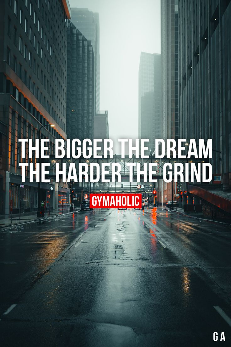 The bigger the dream  The harder the grind. #fitness and exercises #Fitness und Übungen #Fitness y Ejercicios