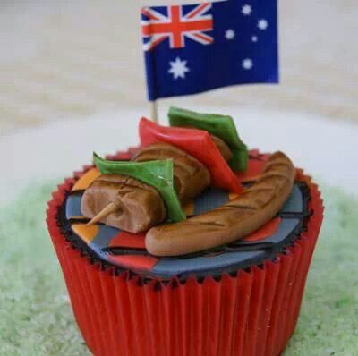 Aussie cupcakes