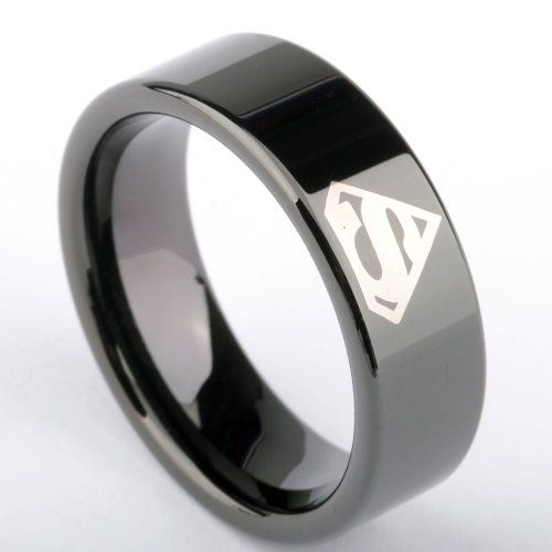 His And Hers Batman Wedding Rings 003 - His And Hers Batman Wedding Rings