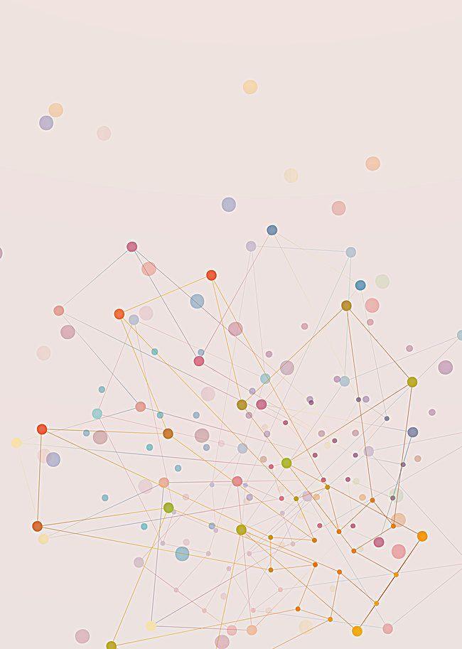 الديكور تصميم الهندباء عنصر الخلفية Technology Background Backdrops Illustration