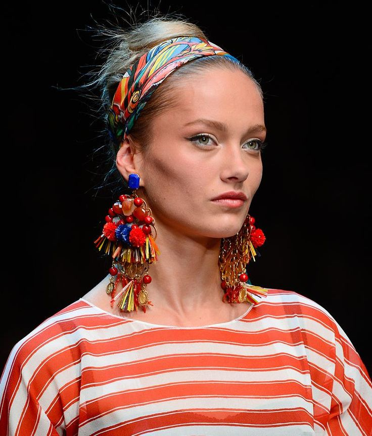 Fashion & Lifestyle: Dolce & Gabbana Earrings (2)... Spring 2013 Womenswear