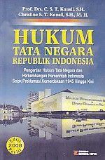 Hukum Tata Negara Republik Indonesia.C.S.T.Kansil