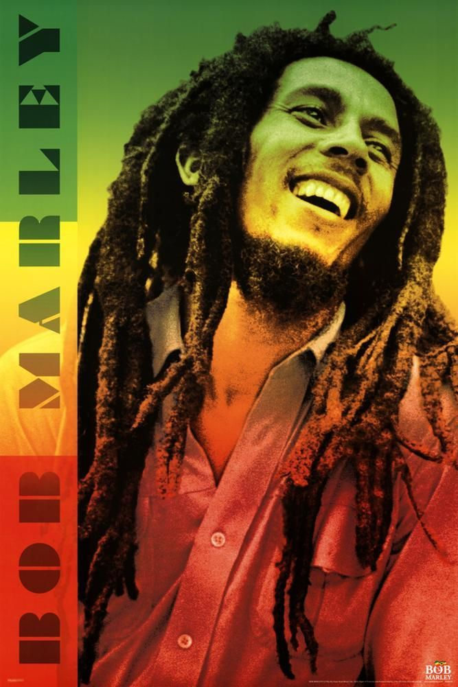 Bob Marley Reggae Music Legend Giant Wall Art New Poster Print Picture