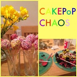 Cake Pop Chaos (aka behind the scenes food blogging) - Baby Budgeting