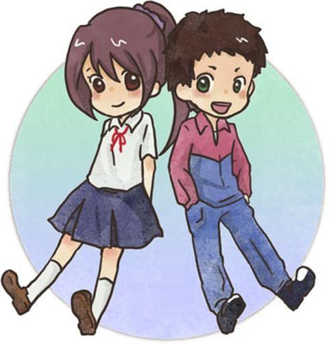 Old Erika and Shou