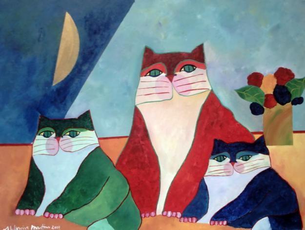 família de gatos |  Aldemir Martins