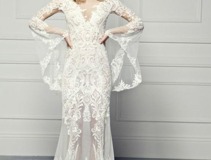 Robe de mariée en dentelle - 91 looks intemporels et romantiques dans l'esprit des grandes tendances.