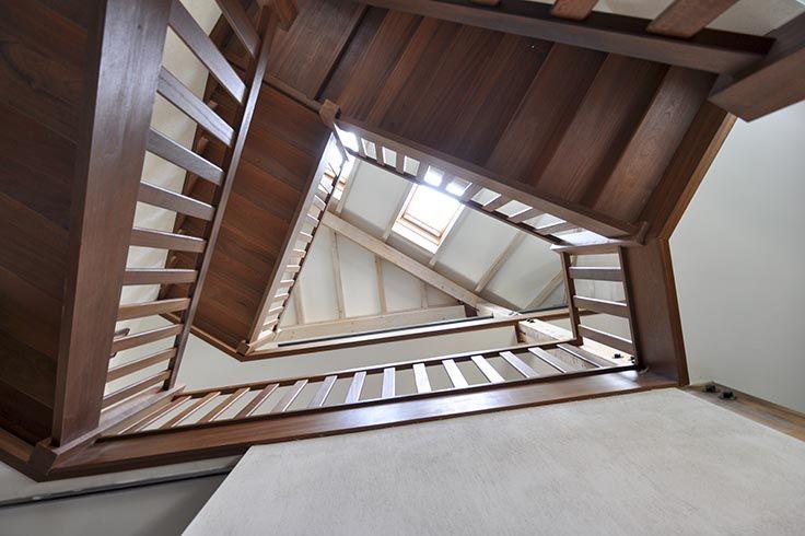 Trap ontwerp door Escher?
