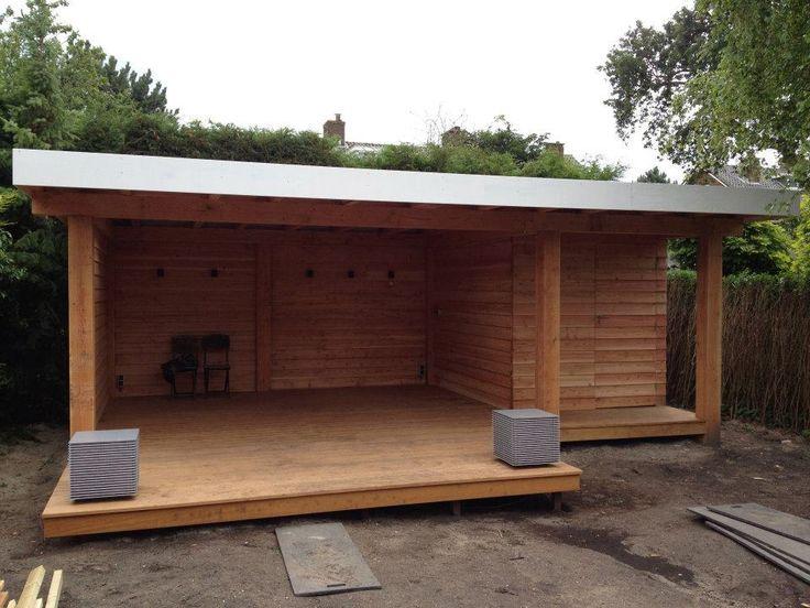 9 beste afbeeldingen over overkapping tuin op pinterest tuinen brocante en buitenkeukens - Luifel ontwerp voor patio ...