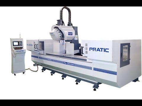 Practic CNC Profiles Processing Center PIA