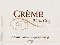 Creme de Lys Chardonnay 2011 - my  first choice!