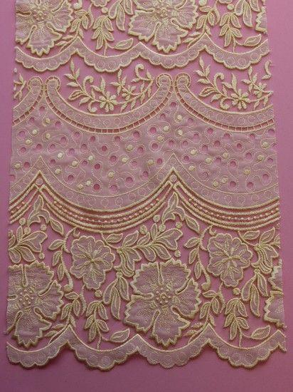 Ivory Laser Lace - Tamara