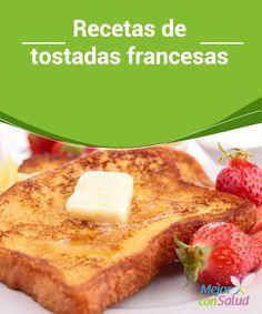 Recetas de tostadas francesas No dejes de leer la siguiente receta de tostadas francesas. No son aptas para las personas que prefieren lo salado o bien para los que están haciendo dieta, corren el riesgo de ¡querer comer muchas!