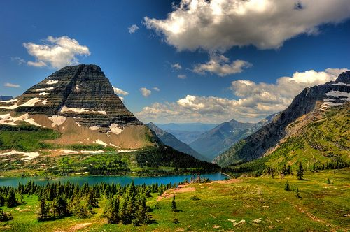 Summer, Glacier National Park, Montana