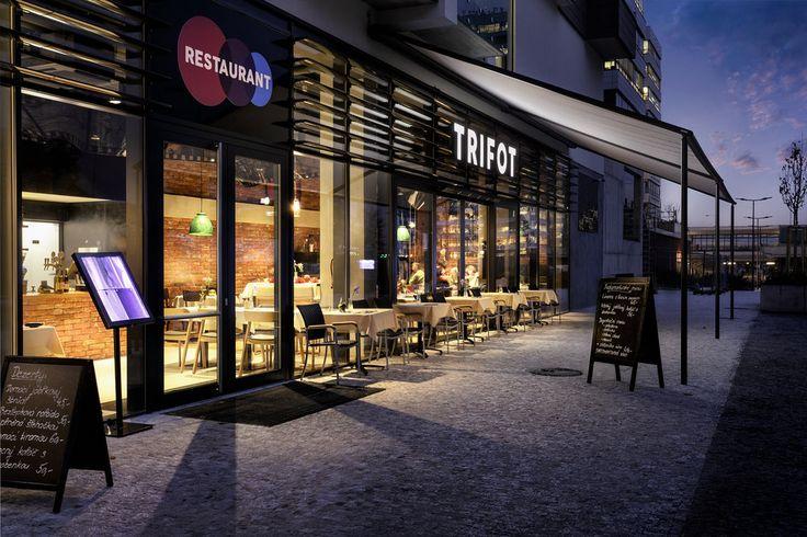 Night exterior restaurant Tritof photo