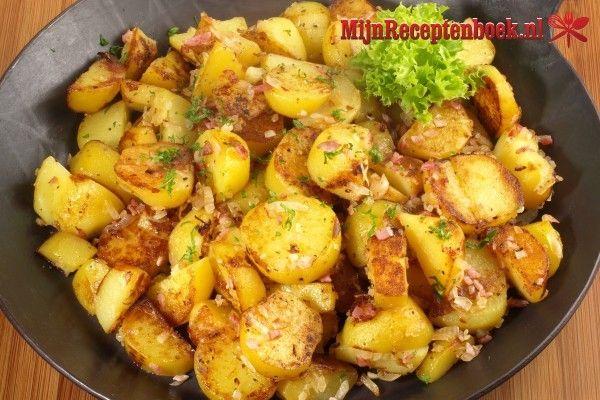 Rundvleescurry met sperziebonen en aardappels recept