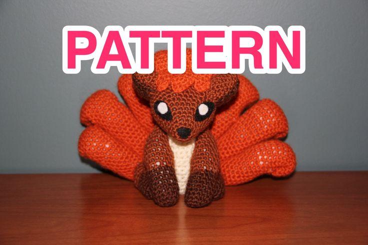 Amigurumi Vulpix Pattern : Cute vulpix pokemon crochet pattern Crochet, Pokemon and ...