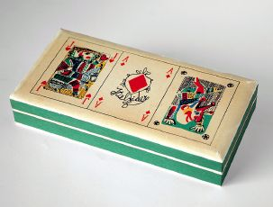 Emanuele Luzzati, Carte da gioco / Play Cards, FIAT, 1978, courtesy Archivio Storico della Pubblicità, Genova.