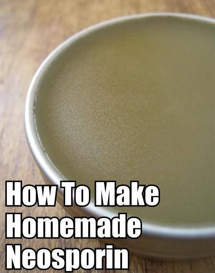 DIY Homemade Salve Recipe-  http://www.thehippyhomemaker.com/make-your-own-natural-owie-cream-that-beats-out-neosporin/