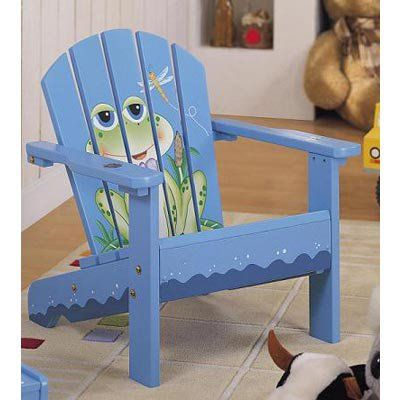Outdoor Fantasy Fields Frog Kids Adirondack Chair W