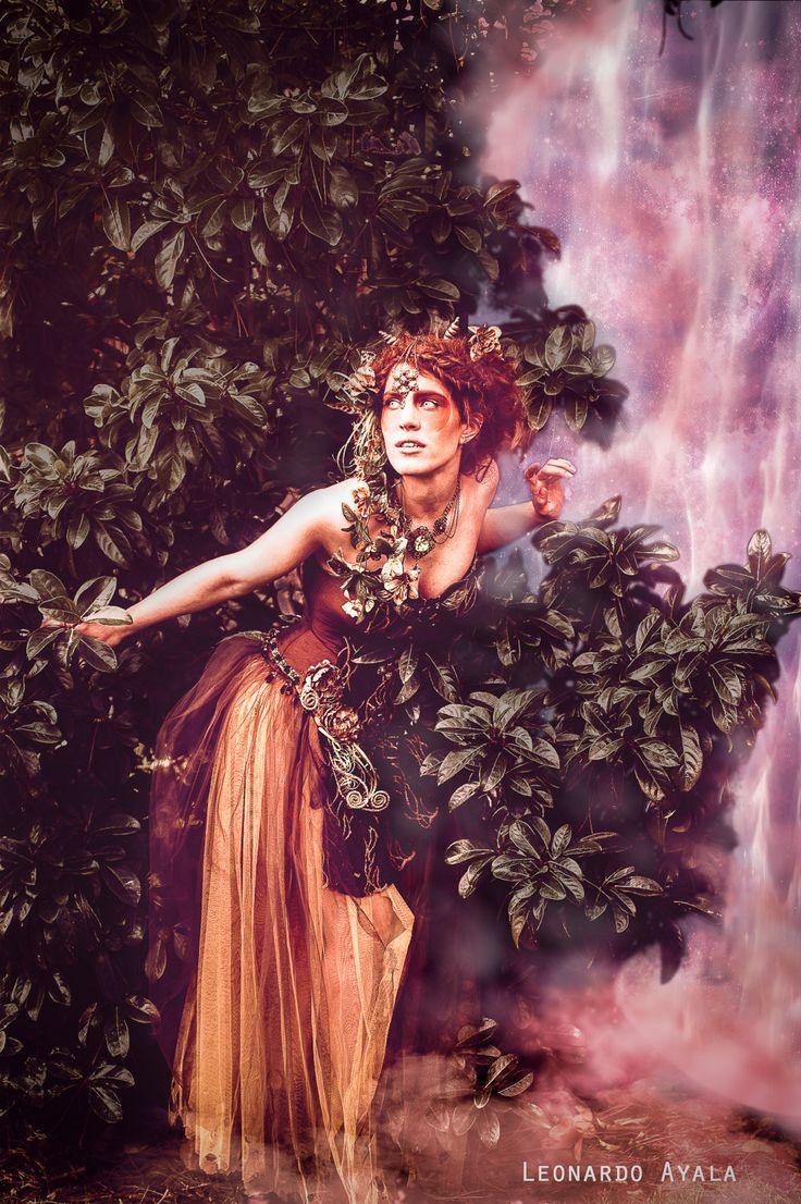 Vestido Ninfa de otoño, sátiro, fauno. Listo para enviar. de FairyCaveShop en…
