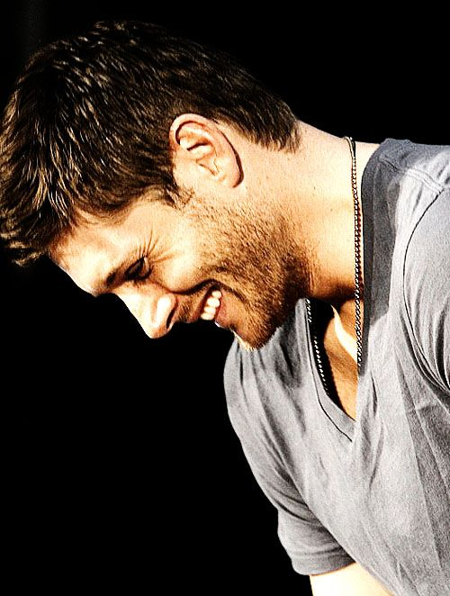 jensen ackles- when u smile at the ground it aint hard to tell.... lol