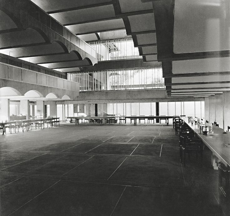 Photograph of St Peter's College from the Gillespie, Kidd & Coia Archive in the Glasgow School of Art Archives and Collections (Archive reference: GKC/CC/2/1/12)