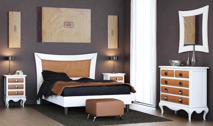 Mejores 18 imágenes de Dormitorios de Matrimonio en Madera Maciza en ...