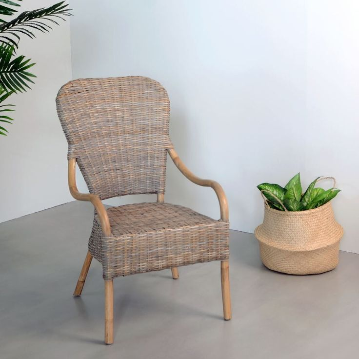 Fotel Rattan - The Wood Company - Producent mebli drewnianych