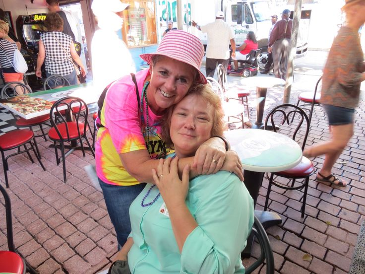 Me and Laura in key west