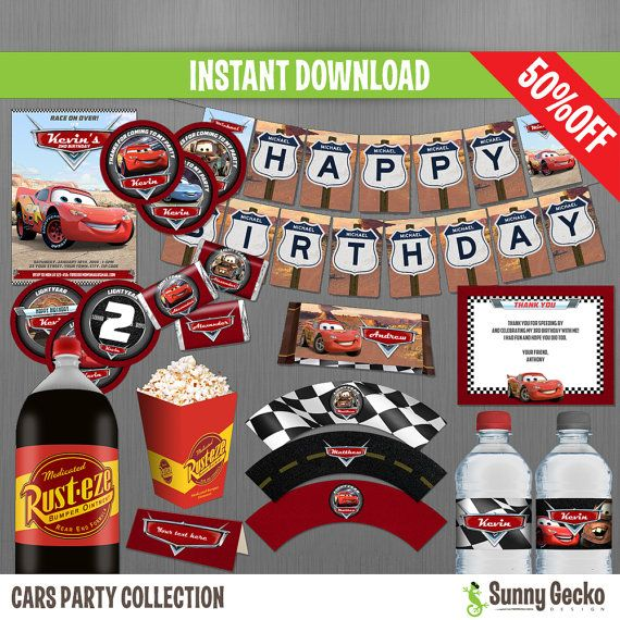 39 best Disney Cars Birthday Party images on Pinterest Disney
