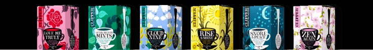 #Clipper #tea have the most beautiful #designs for their tea #packaging... absolutely stunning