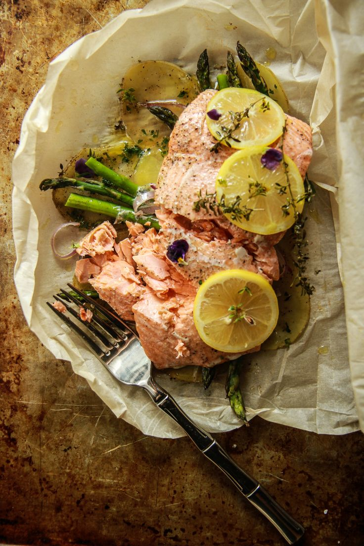 Perfect Parchmentbaked Salmon