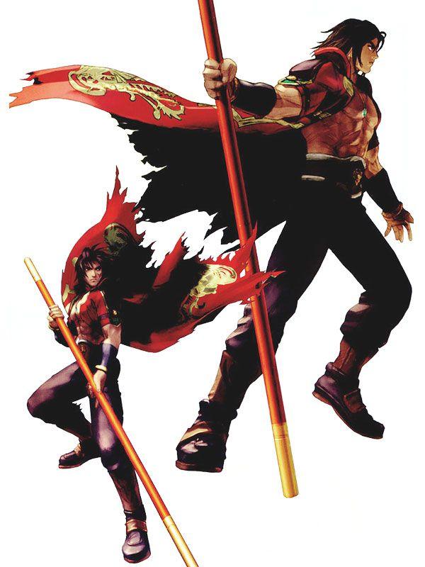 Soul Calibur II - Takuji Kawano, Aya Takemura