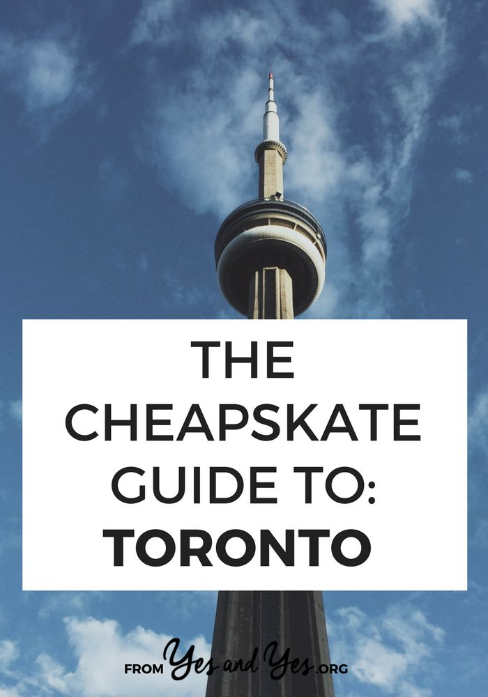 Can you travel cheap in Toronto - Canada's biggest city? Of course! These budget travel tips from a local will help you find the best cheap food, cheap lodging, and cheap things to do in Toronto!