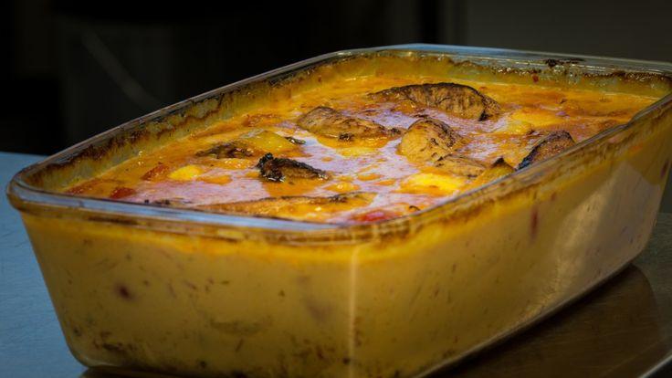 Denne kyllingretten passer til både hverdag og fest, mener skihopper Anders Jacobsen. Gode krydder og fyldig kremsaus gir en spennende vri på middagen.
