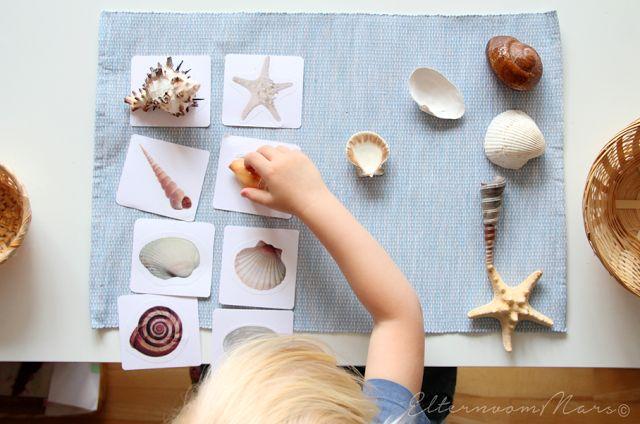 Eltern vom Mars: 6 Montessori Zuordnungsspiel-Ideen mit Karten zum Downloaden