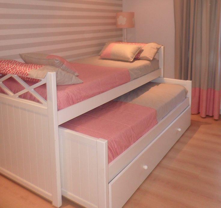 Las 25 mejores ideas sobre camas dobles para ni os en - Habitaciones infantiles cama nido ...