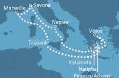 Savona Italy ( Croaziere , Marea Mediterana ) - Costa NeoRomantica - 12 nopti din Savona cod 3058