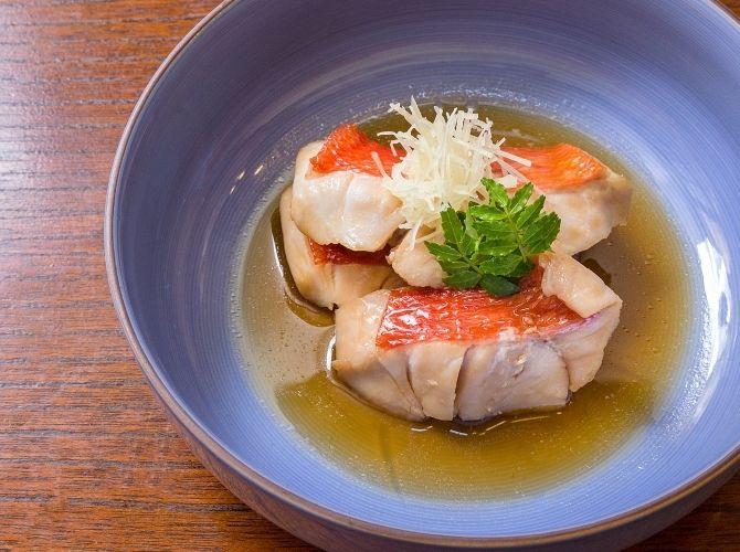 辻 昌也シェフ/碗宮の金目鯛の煮付けレシピ