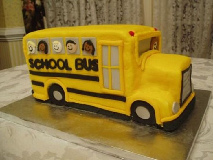 School Bus Cake on Cake Central